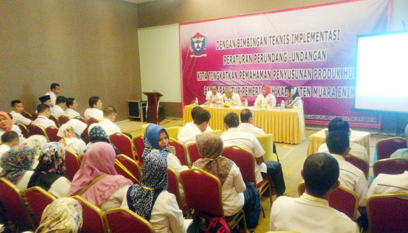 ASN Diberi Pemahaman Pembuatan Produk Hukum Daerah