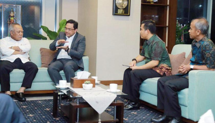 Normalisasi Sungai Kelekar Diprioritaskan, Pjs Walikota Prabumulih Temui Menteri PUPR