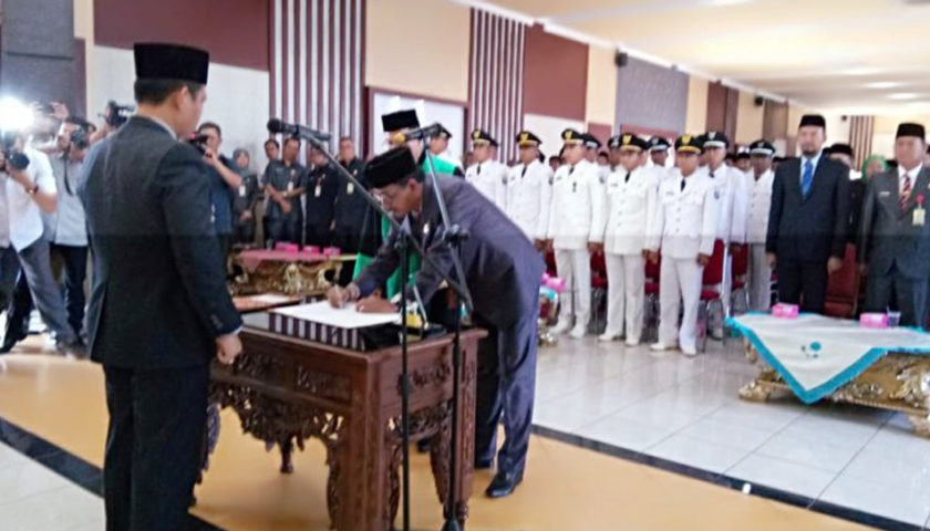 Pj Walikota Prabumulih Lantik Pejabat Eselon II, III, dan IV