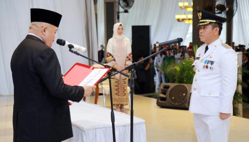 Gubernur Lantik Richard Chahyadi Jadi Penjabat Walikota Prabumulih