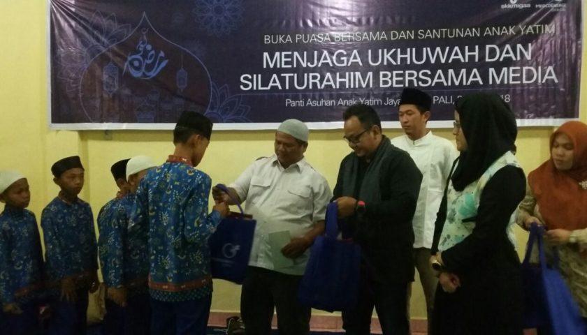 Jalin Silahturahmi PT Medco E&P Dan Wartawan Buka Puasa Bersama