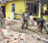 Rumah Suhinah Dibedah TNI AD Yonif 141 AYJP