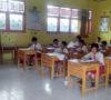 SDN 21 Lawang Kidul Ikuti Ujian Sekolah Tertulis