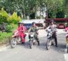 Patroli Terpadu Polsek Sanga Desa dan Koramil Bersama Manggala Agni