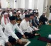 Bupati Sholat Ied di Masjid Agung Muaraenim