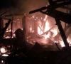 Rumah di Penanggiran Muaraenim Ludes Terbakar