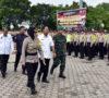Kapolres Muba Pimpin Apel Pengamanan Pilgub