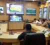 Plt Bupati Muba Hadiri Langsung Video Conference dengan Kapolri