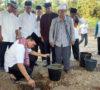 Beni Letakkan Batu Pertama Pembangunan Masjid Al Baniah