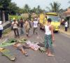 Dump Truk Hantam Vega ZR di Lawang Kidul, Satu Tewas