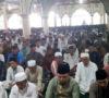 Camat Bayung Lencir Sholat Idul Fitri Bersama Masyarakat