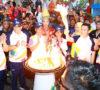 Penjabat Walikota dan Masyarakat Prabumulih Sambut Obor ASIAN Games 2018