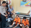 Dua Pelaku Bandit Pecah Kaca Mobil Diringkus Polisi