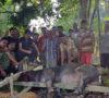 Sambut Bupati, Apa yang Dilakukan Warga Desa Suka Damai?