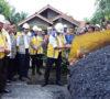 Pertama di Indonesia, Pembangunan Jalan Aspal Muba Gunakan Campuran Serbuk Karet Alam Teraktivasi