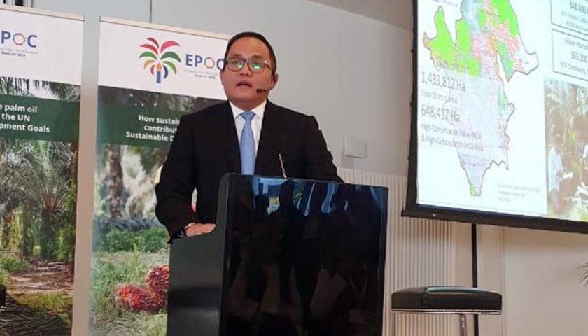 Dodi Reza Alex Noerdin Dipercaya Sebagai Pembicara di EPOC Madrid