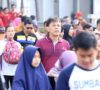 Perwakilan Pejabat Pemkab Muba Ikuti Jalan Sehat