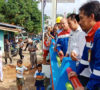 GM Pertamina EP Asset 2 dan Walikota Prabumulih Resmikan Jembatan Air Manau