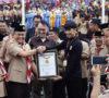 6.500 Anggota Pramuka Terima Buku Tabungan, Dodi Reza Alex Menerima Piagam Penghargaan dari MURI