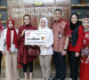 Wakili Yayasan Salsabila, Enam Dokter Cantik Mensuport Tim Rescue FK Unsri yang Berangkat ke Palu