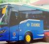 Bus Damri Siap Angkut Penumpang Dari Sekayu ke Palembang