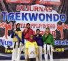 Kejurnas Taekwondo, PPLPD Muba Sabet 1 Perak dan 3 Perunggu