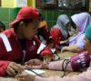 Tiba di Banten, Tim EMRT RSUD Sekayu Langsung Obati Pengungsi