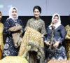 Thia Yufada Promosikan Kain Gambo Muba di Ajang Wanita Inspiratif