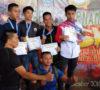 Open Turnamen Nasional Wushu, Atlet Muba Borong 6 Medali Emas