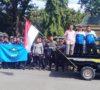 Lembur Tidak Dibayarkan, Security PT Eka Jaya Unjuk Rasa