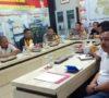 Kapolres dan Bupati Lahat Saksikan Penandatanganan MoU Melalui Vicon