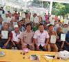 Ratusan Warga Ngulak Terima Sertifikat Tanah Gratis PTSL