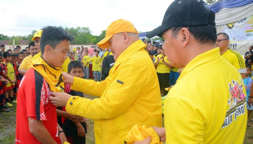 Putra Asli Lampung Terpilih Pemain Terbaik Alex Noerdin Cup