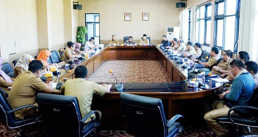 Atribut dan Honor Linmas Dibahas Dalam Rapat