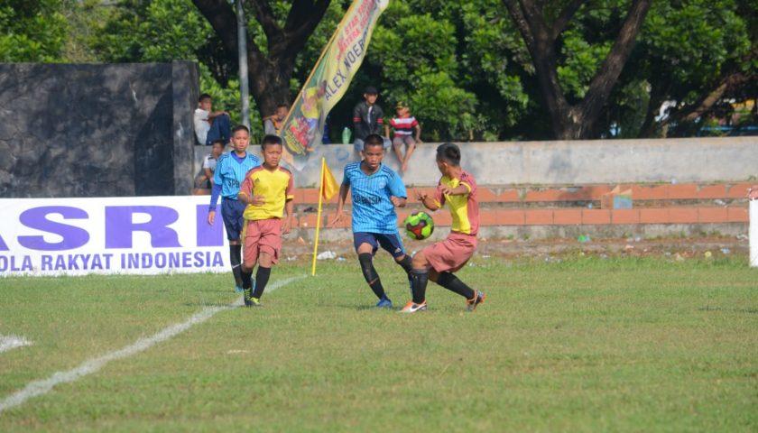 Anak-Anak dari Kabupaten OI Rela Ikut Festival Alex Noerdin Cup di Segitiga Emas