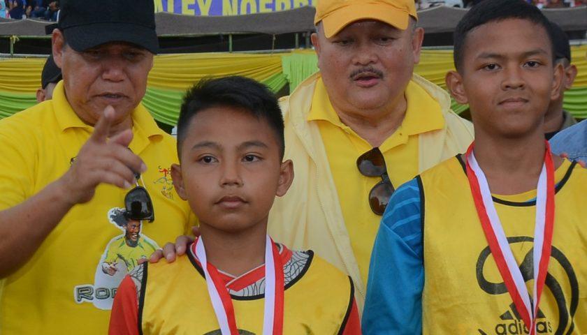 Demi Ikuti Alex Noerdin Cup, Rangga Rela Menginap 3 Malam Di Stadion Madya Kemiling
