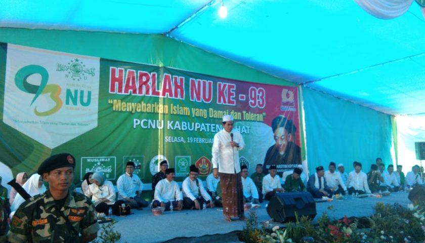 Harla ke-93, PCNU Lahat Gelar Tabligh Akbar