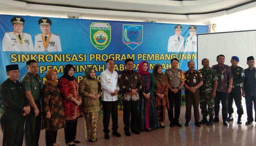 Gubernur dan Bupati Lahat Sinkronisasi Program Pembangunan