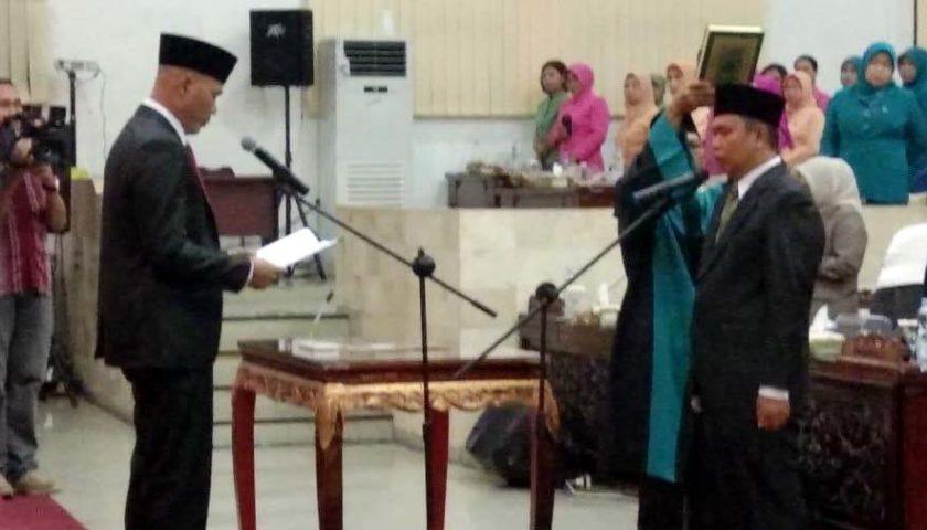 PAW Anggota DPRD, Agus Riansyah Resmi Dilantik