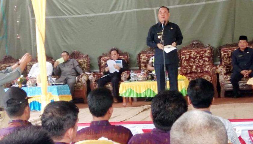 Merapi Area, Ajukan Hasil Musrenbang 7 Tahun Silam