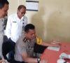 Polisi Tegang Saat Urine