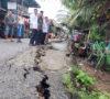 Jalan Ngulak I Amblas, Warga Khawatir Terancam Tanah Longsor
