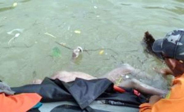 Edwin Ditemukan Tewas Mengapung di Sungai Lematang