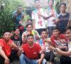 Pemuda Desa Dangku Gotong Royong Bedah Rumah Bandi