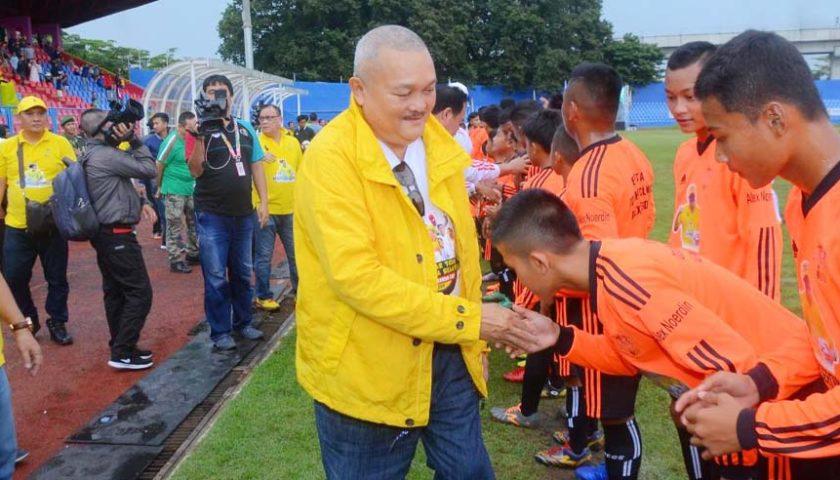 Alex: Ronaldinho Tetap Hadir di Kota Palembang