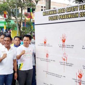 Millenial Road Safety Festival di Prabumulih Berlangsung Meriah