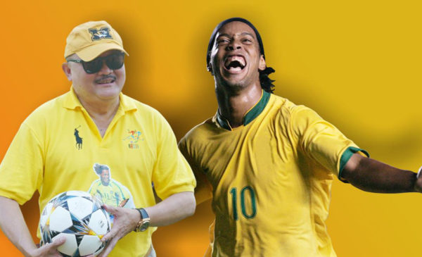 Laga Final AN Cup Tetap Berlangsung, Alex Noerdin Jadwal Ulang Kedatangan Ronaldinho
