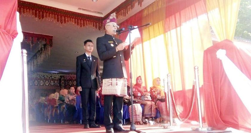 Plt Bupati Pimpin Upacara Peringatan HUT Bengkulu Selatan Ke-70