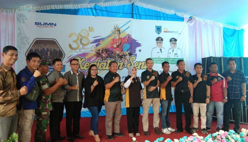 Festival Seni Daerah Warnai HUT PT BA Ke-38