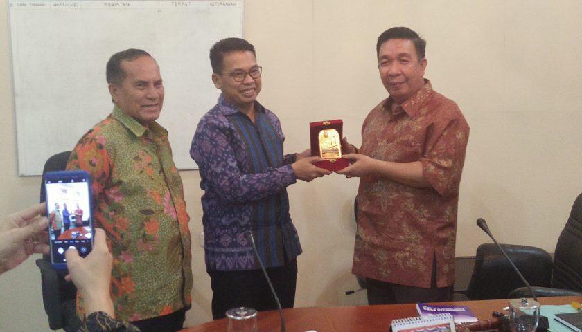 PWI Sumsel Curhat Masalah Kantor Sekretariat ke Ketua Dewan
